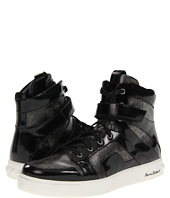Pierre Balmain - Embossed Calf High Top Trainer