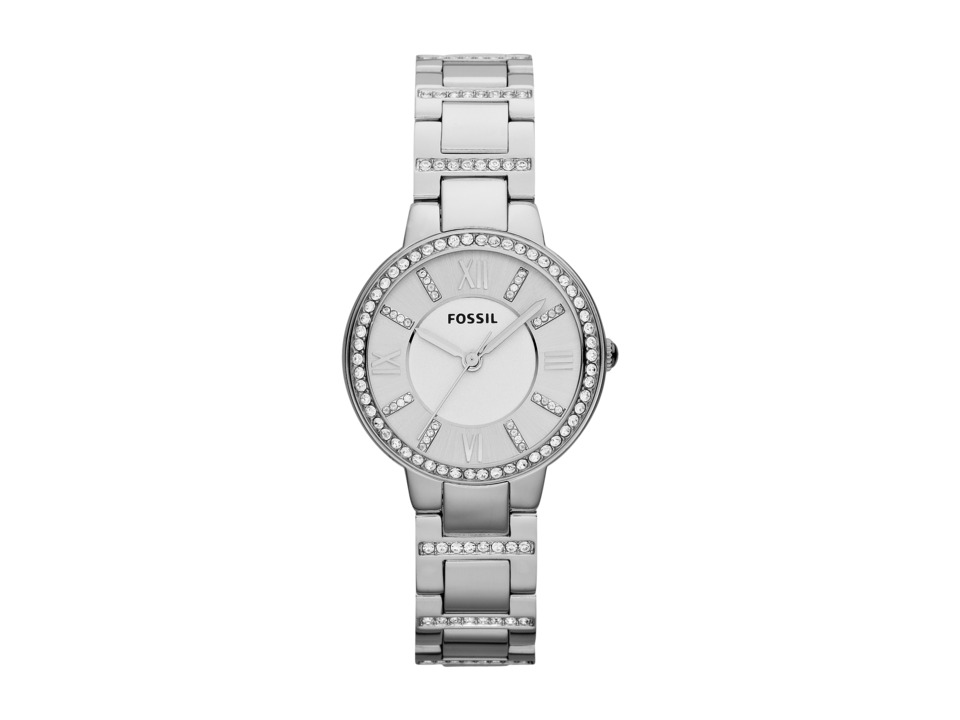 Fossil - Virginia - ES3282 (Silver) Analog Watches