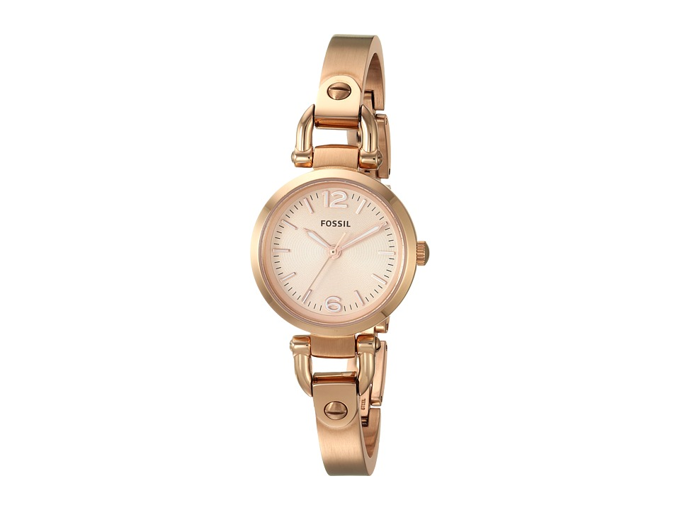 Fossil - Georgia - ES3268 (Rosegold) Watches