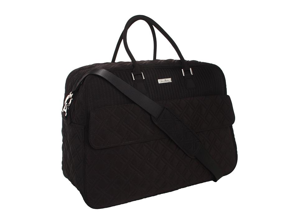Vera Bradley Luggage - Grand Traveler (Black) Duffel Bags