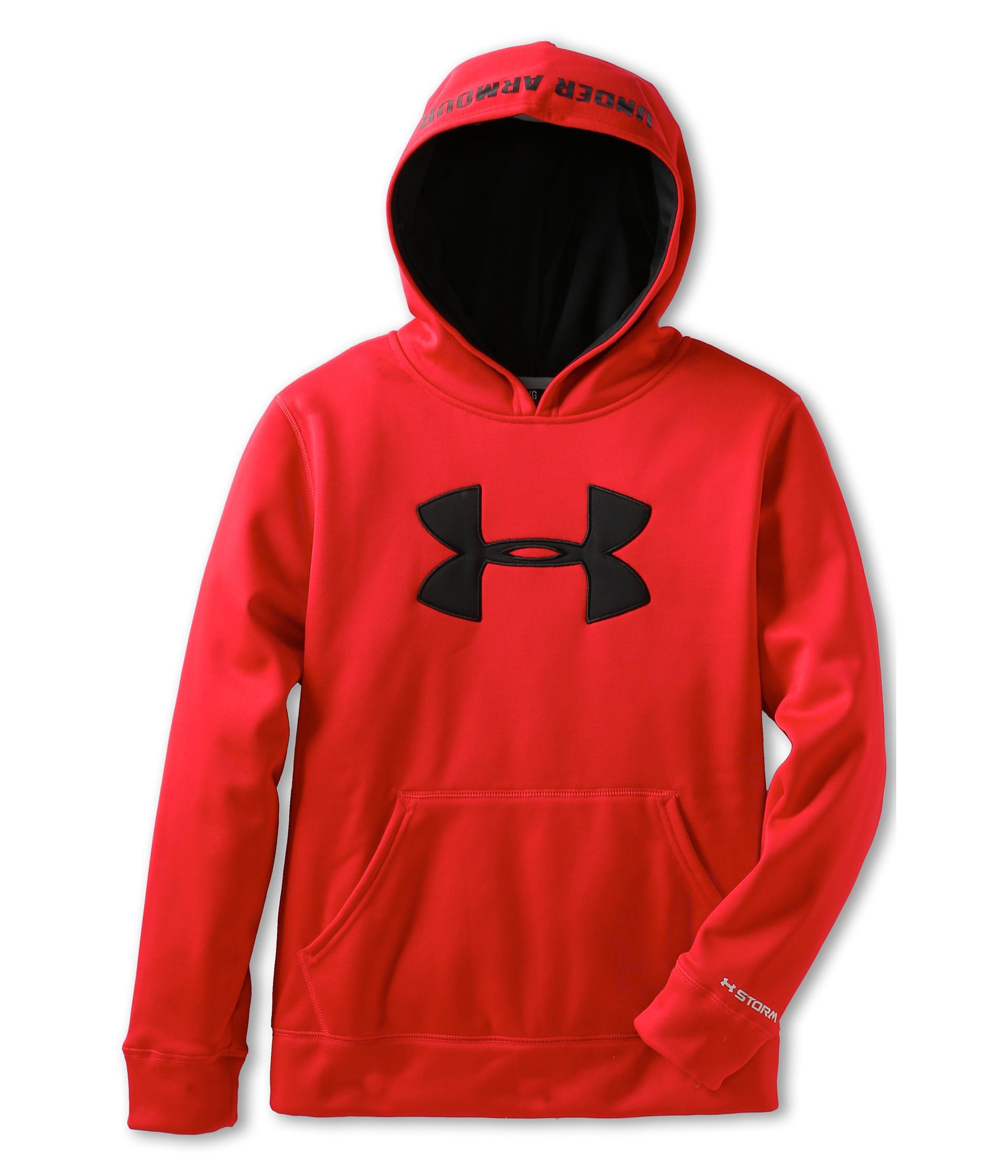 red under armour sweatshirt