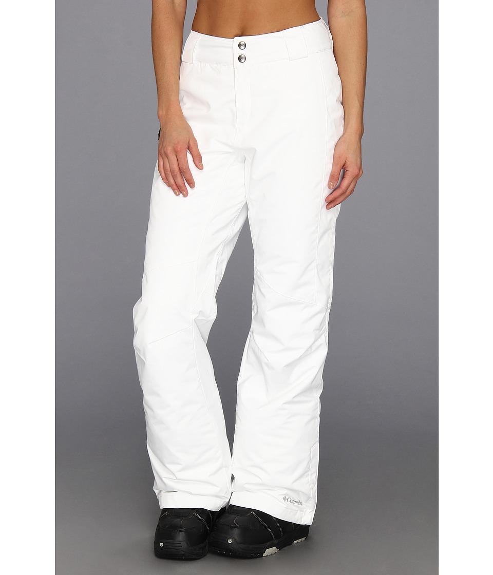Columbia Bugabootm Pant (White) Women's Outerwear