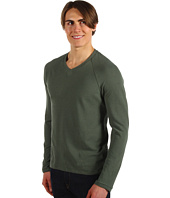 Alternative Apparel - Retro Long Sleeve Raglan V-Neck