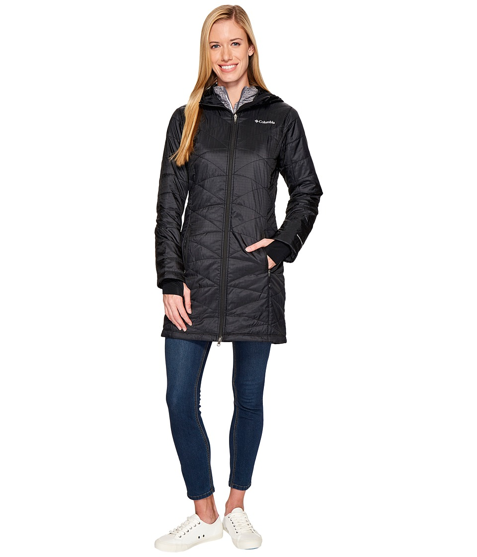 Columbia Mighty Lite Hooded Jacket (Black 2) Women
