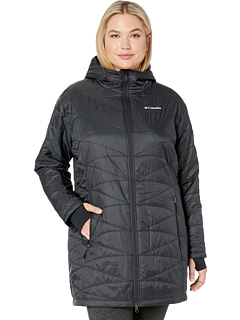 099953a915b review detail Columbia Plus Size Mighty Lite™ Hooded Jacket Black.
