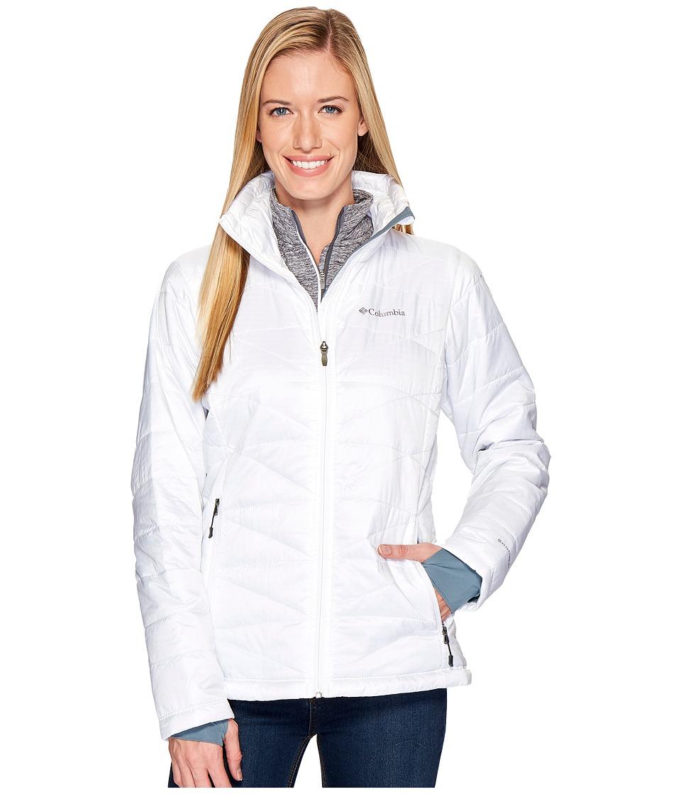 Columbia Mighty Lite III Jacket White Womens Jacket
