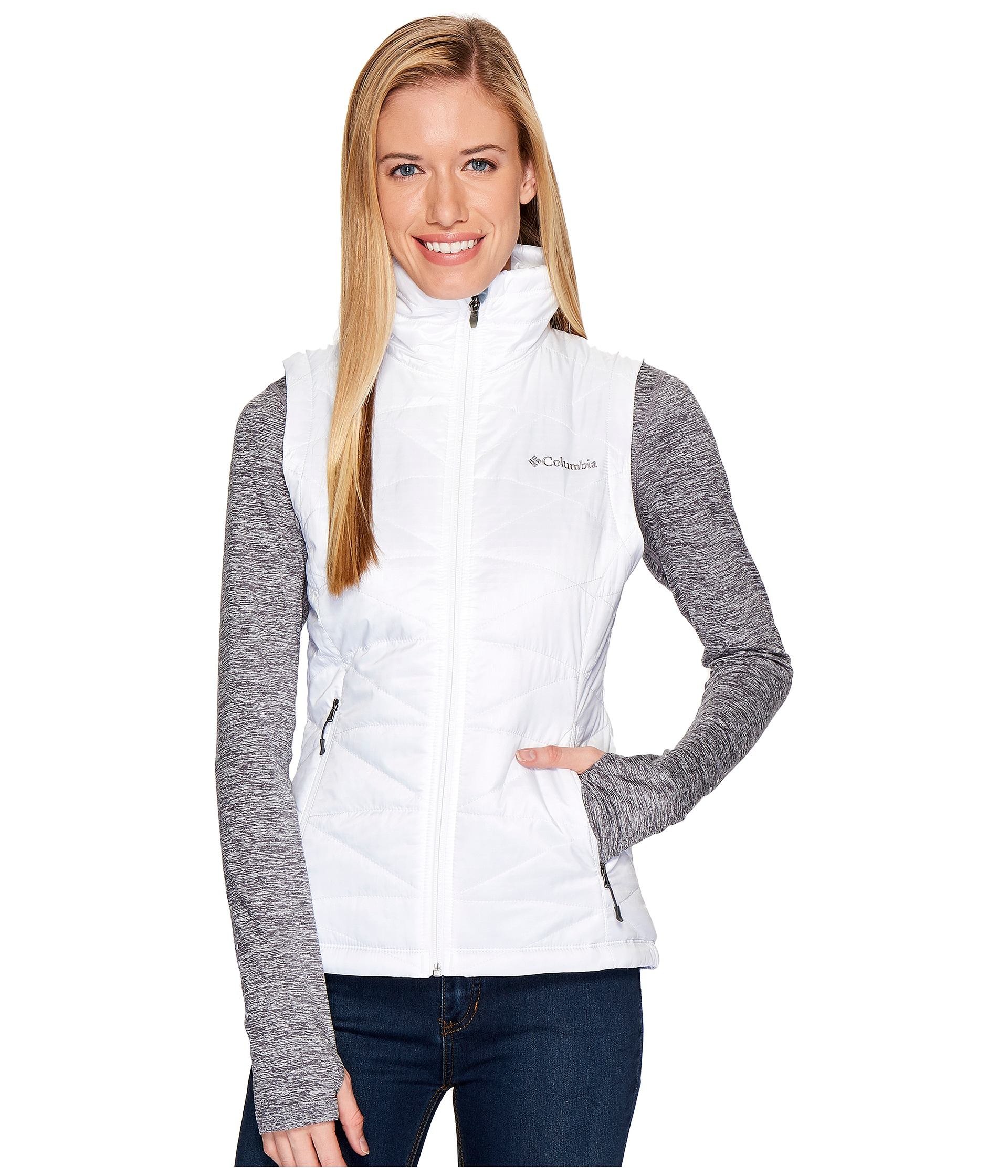 1e6c86c0271 Columbia Mighty Lite™ III Vest White on PopScreen