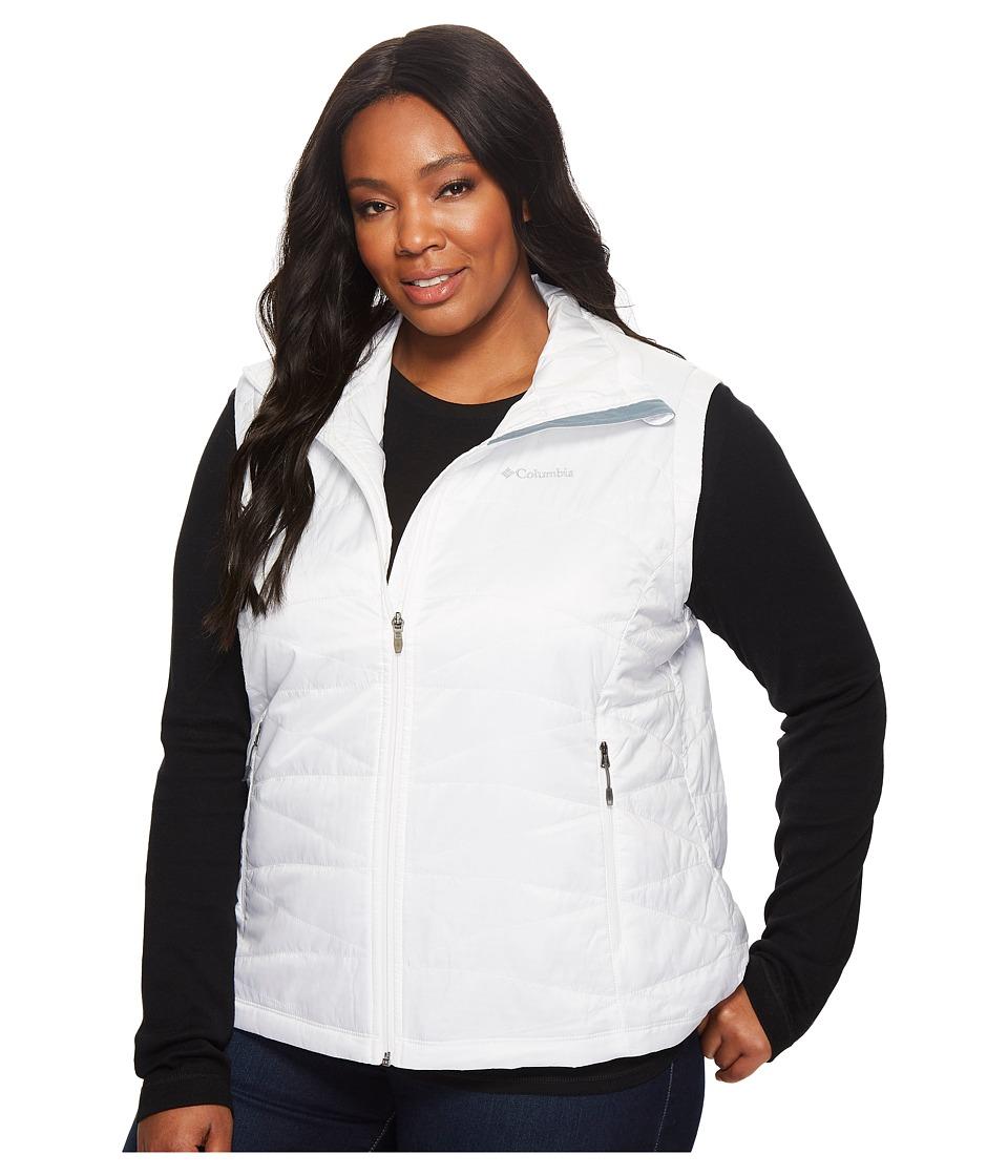 Columbia Plus Size Mighty Lite III Vest (White) Women