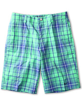 Nike Golf Kids - Plaid Tech Short (Big Kids)