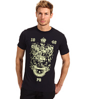 Pierre Balmain - Short Sleeve Crew Screen Print Tee