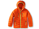 Marmot Kids - Boy's Hangtime (Down) Hoody (Little Kids/Big Kids) (Sunset Orange) - Apparel