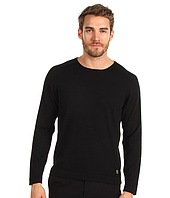 Pierre Balmain - Long Sleeve Crew Sweater with Piping