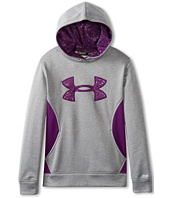 Under Armour Kids - Girls' Armour® Fleece Storm Big Logo Hoodie (Big Kids)