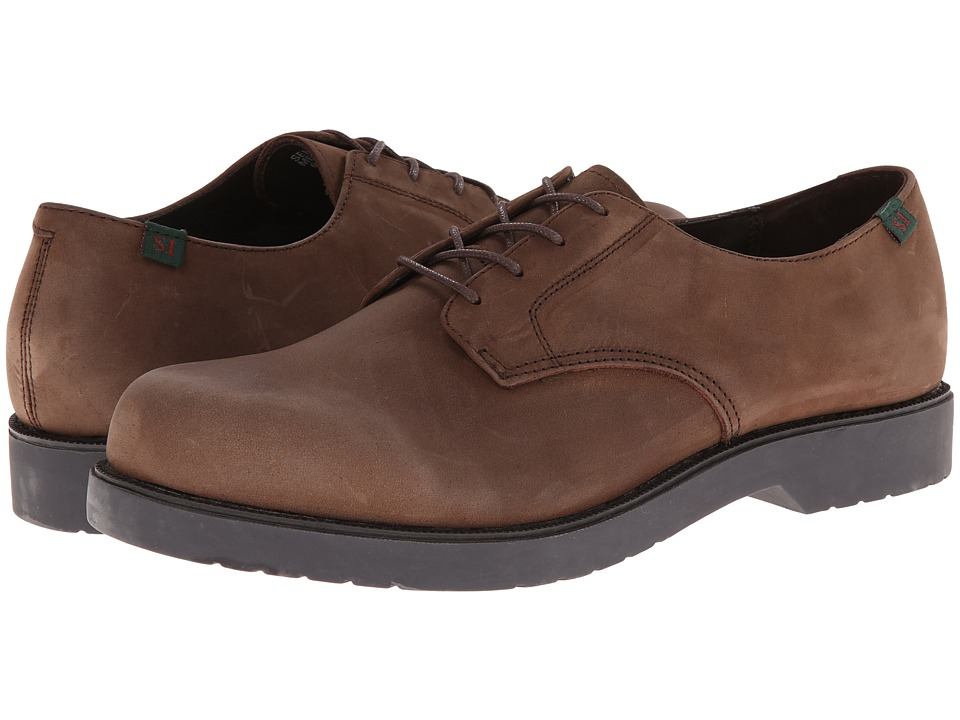 School Issue Semester Adult Chocolate Nubuck Boys Shoes