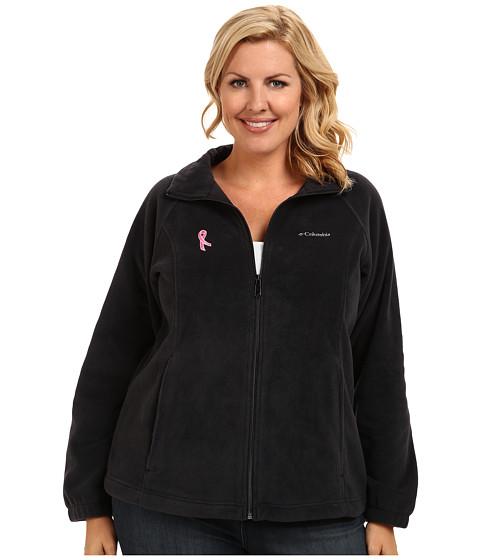 Columbia Plus Size Tested Tough In Pink™ Benton Springs Full Zip - Black