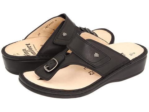 Finn Comfort Phuket - 2533 - Black Nappa Classic Footbed