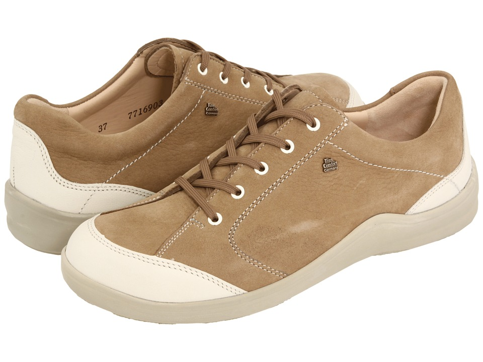 Finn Comfort Cusco 82736 Stone Nubuck Womens Lace up casual Shoes
