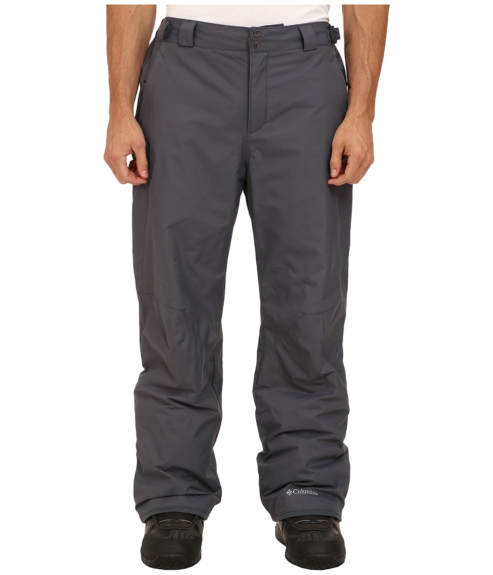 Columbia Bugabootm II Pant - Tall (Graphite) Men's Outerwear