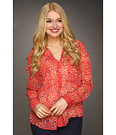 Free People - Geo Easy Rider Button Down