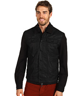 John Varvatos - Double Layered Bomber Denim Jacket