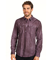 John Varvatos - Slim Fit Pigment Spray Shirt
