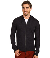 John Varvatos - Long Sleeve Hoodie with Kangaroo Pocket