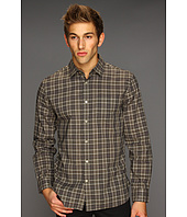 John Varvatos - Pointed Collar Shirt with Patch Pocket
