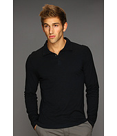 John Varvatos - L/S Button Front Pigment Sprayed Shirt