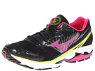 Mizuno - Wave Rider 16 (Anthracite/Beetroot/Lime Punch) - Footwear