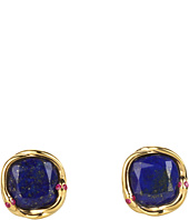 Elizabeth and James - Meadowlark Lapis Snake Stud Earrings