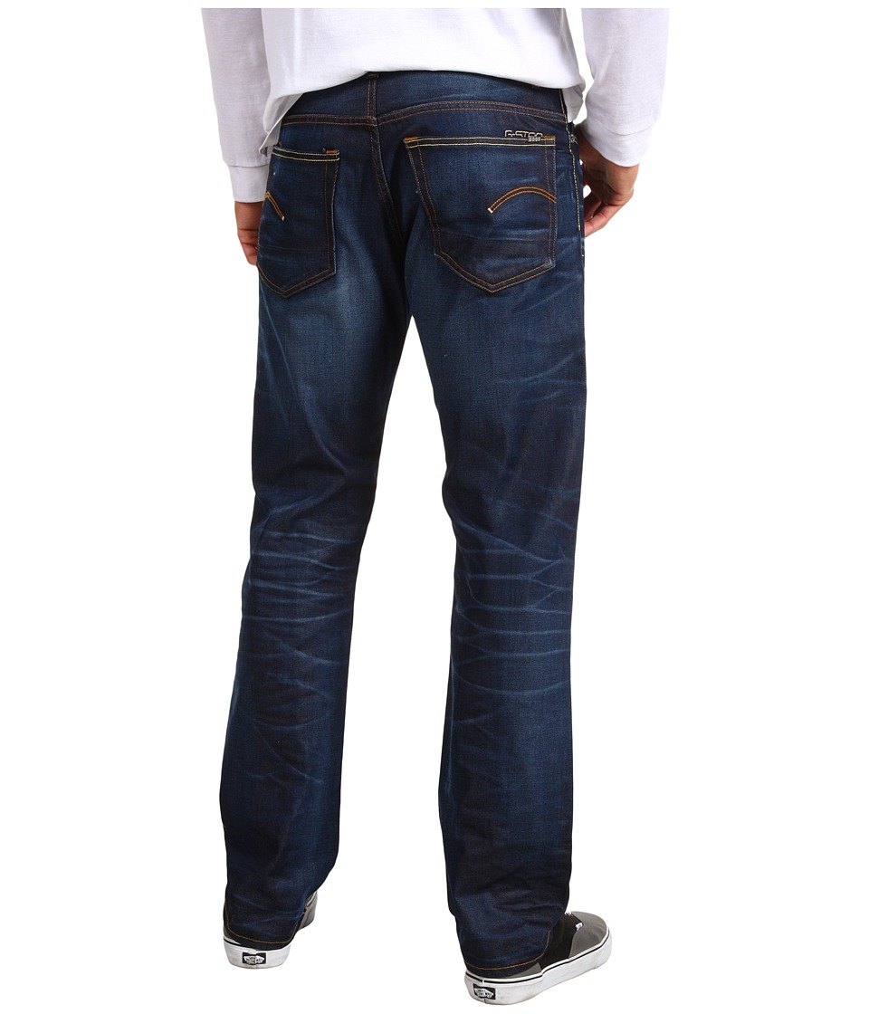 G Star 3301 Straight Jean in Lexicon Dark Aged Lexicon Dark Aged Mens Jeans