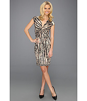 BCBGMAXAZRIA - Laila Twist Front Wrap Dress