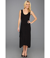 BCBGMAXAZRIA - Annika Sleeveless Dress w/Ruffle Slit