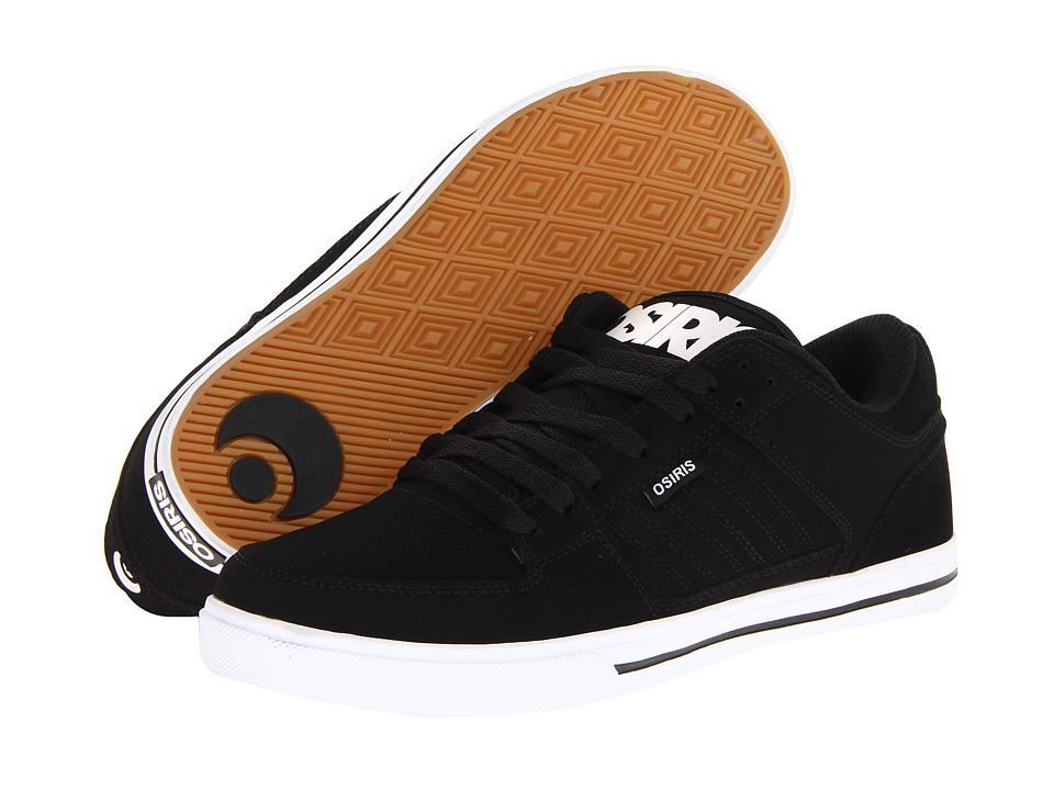 Osiris Protocol Black/White Mens Skate Shoes