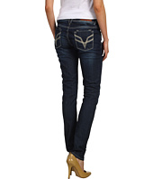 VIGOSS - Skinny Double V Embroidered