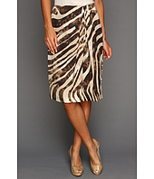 Jones New York - Gather Front Wrap Style Skirt