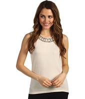 Jones New York - Sleeves Shell w/Necklace