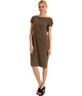 Jones New York - Tucked Cap Sleeve Dress