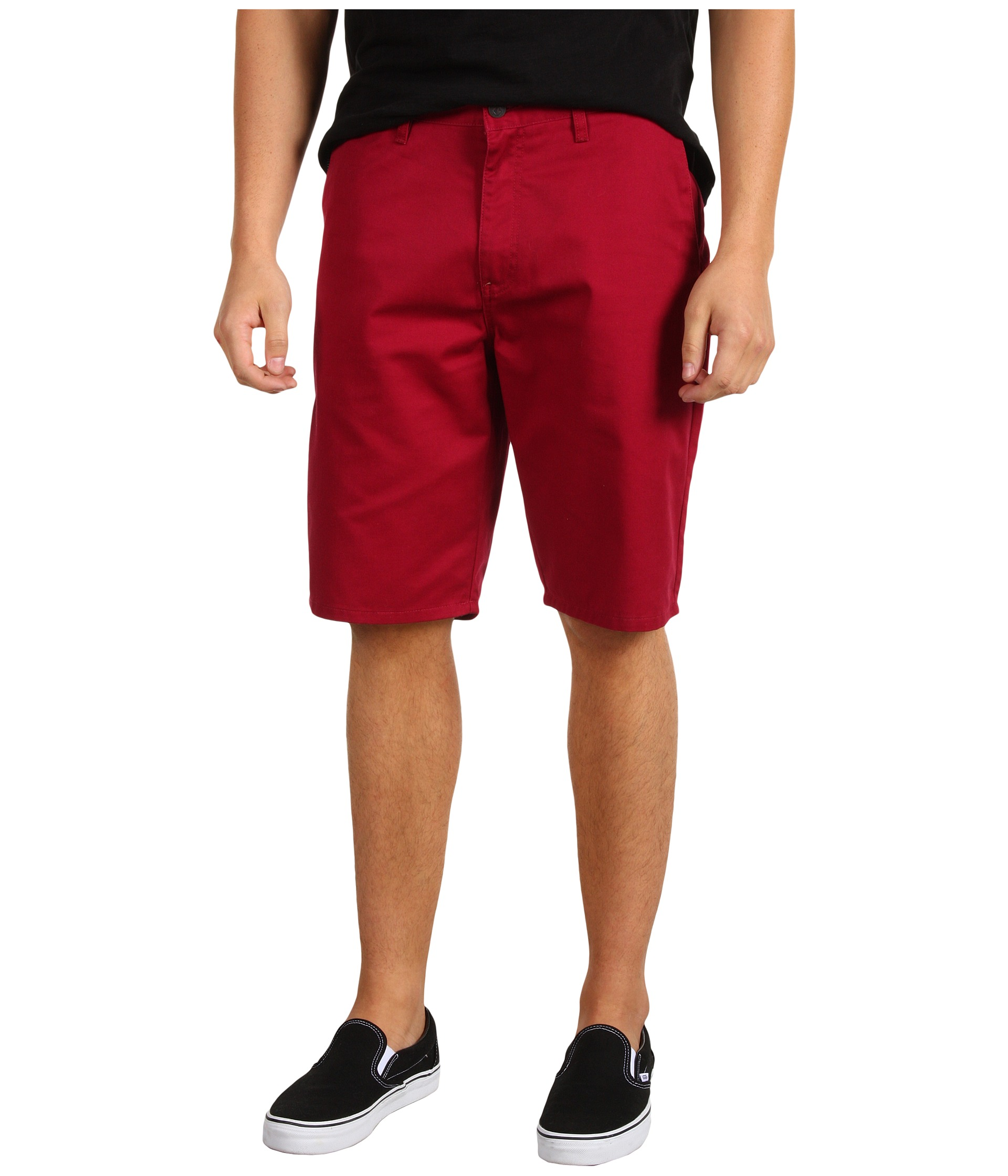 Sale Discount Volcom Frickin Modern Chino Short Charcoal Heather