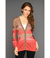 Jones New York - Long Sleeve V-Neck Cardigan