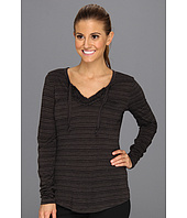 ExOfficio - Go-To® Ruffle Stripe L/S Shirt
