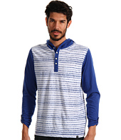 Marc Ecko Cut & Sew - Reverse Print Stripe Hooded Tee