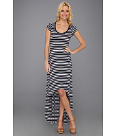 BCBGMAXAZRIA - Donesa Long Dress With High Front Hem
