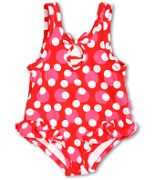 le top - Dot Swimsuit with Hip Flip (Infant)