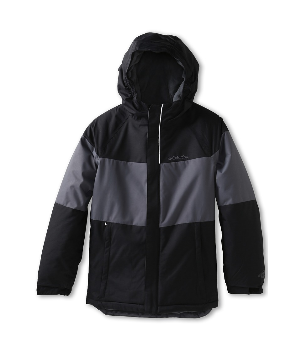Columbia Kids Alpine Action Jacket (Little Kids/Big Kids) (Black/Graphite) Boy