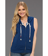 Element - Playlist Sleeveless Zip Up Fleece Hoodie