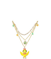 Betsey Johnson - Garden Party Chick Multi Row Necklace