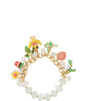 Betsey Johnson - Garden Party Chickadee Half Stretch Bracelet