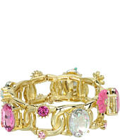 Betsey Johnson - Garden Party Flower Garden Full Stretch Bracelet