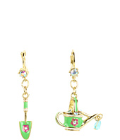 Betsey Johnson - Garden Party Shovel Pail Earrings